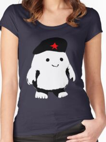 Comrade Adipose Women's Fitted Scoop T-Shirt