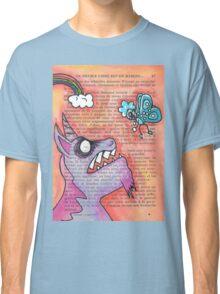 Butterfly Vs Unicorn Classic T-Shirt