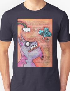 Butterfly Vs Unicorn Unisex T-Shirt