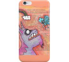 Butterfly Vs Unicorn iPhone Case/Skin