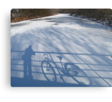 Me and my Bike Metal Print
