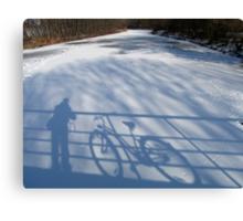 Me and my Bike Canvas Print