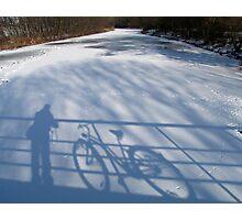Me and my Bike Photographic Print