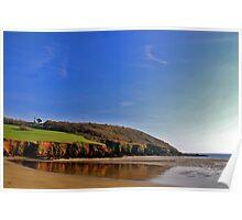 Caerhays Castle Bay. Poster