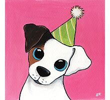 Party Pooch Photographic Print