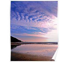 Caerhays Sunset Poster