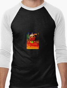 Gasp-o-Bot Men's Baseball ¾ T-Shirt