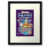 Enchanted Up Chucks Framed Print