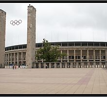 Berlin Olympic Stadium  by may14th1983