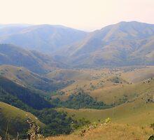Drakensberg Mountain Range - Swaziland by Irene  van Vuuren