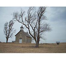 Kansas Church Photographic Print
