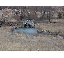 Kansas Stone Bridge Photographic Print