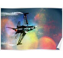 F16 Sound in Colour Poster