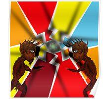 Devilish Pair Poster