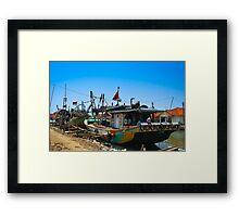 Fishermen's Boat Framed Print