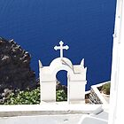 Santorinin,  Greece - Purity by Francis Drake