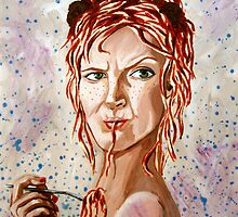 Spaghetti Head Betty by Rachelle Dyer