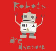 Robots Are Awesome Kids Clothes