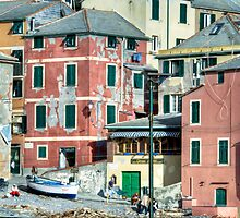 Boccadasse by oreundici