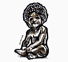Baby with an afro Unisex T-Shirt