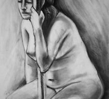 Sitting Figure by Julia Burton