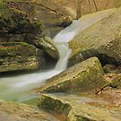 """Weathering Time """"Two Tier Falls""""  by David  Hughes"""