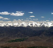 The Majestic Himalayas - Where Earth Meets Sky  by Urban-Clicks