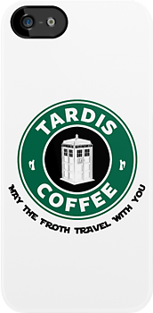 Tardis Coffee by Royal Bros Art
