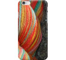 Autumn Colored Yarn iPhone Case/Skin