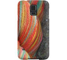 Autumn Colored Yarn Samsung Galaxy Case/Skin