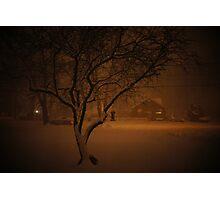 Snowstorm on Nowlen Photographic Print