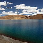 Pangong Tso, Leh by Urban-Clicks