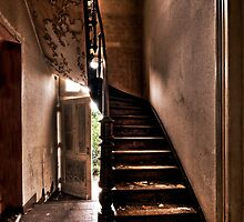 Cafe Stairs by Zora