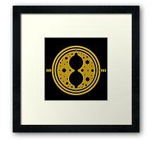 Time-Turner (Gold) Framed Print