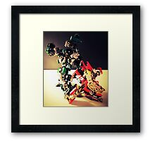 Transformers RoadBuster & Leadfoot Framed Print