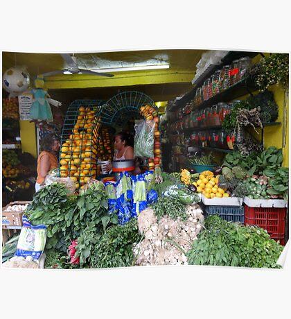 All This Fresh Vegetables... - Todas Estas Frutas Y Verduras Poster
