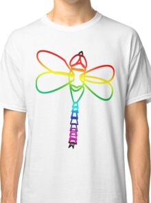 Rainbow Dragonfly Classic T-Shirt
