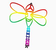 Rainbow Dragonfly Unisex T-Shirt
