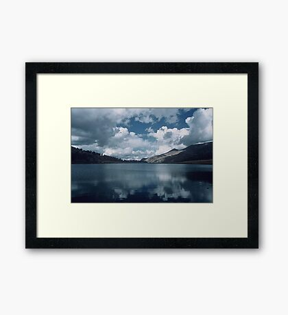 Glacial Lake, Yosemite National Park Framed Print