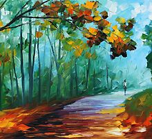 FRESH FOREST - LEONID AFREMOV by Leonid  Afremov