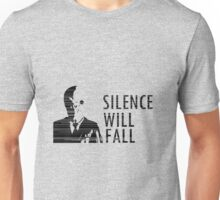 """""""Silence Will Fall"""" - Doctor Who Unisex T-Shirt"""