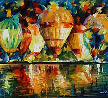 BALLOON SHOW - LEONID AFREMOV by Leonid  Afremov