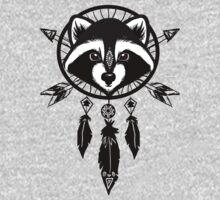 Raccoon Catcher One Piece - Short Sleeve
