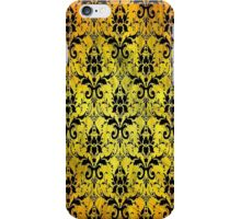 Vintage Floral Pattern iPhone Case/Skin