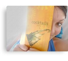 A Cocktail for the Lady? Canvas Print