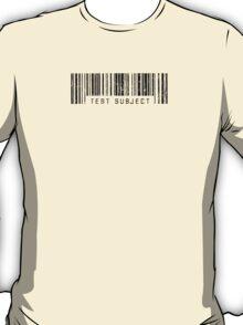 Test Subject Barcode T-Shirt