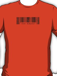 Test Subject Barcode T-Shirt