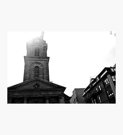 Boston church Photographic Print