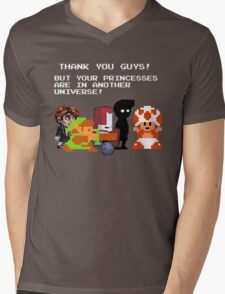 Sorry Guys. Your princesses are in another Universe. Mens V-Neck T-Shirt