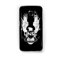 UNSC LOGO HALO 4 - GRUNT DISTRESSED LOOK Samsung Galaxy Case/Skin